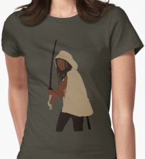 Michonne - The Walking Dead Women's Fitted T-Shirt