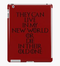 Game Of Thrones - Daenerys Targaryen Quote iPad Case/Skin