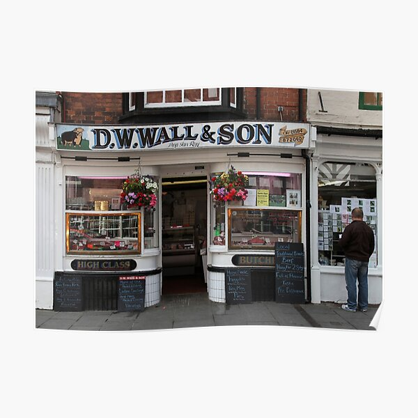D.W.Wall & Son Poster