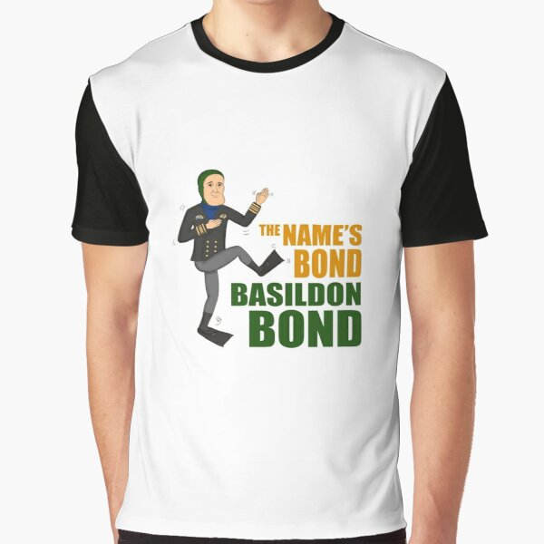 The name's Bond. Basildon Bond Graphic T-Shirt