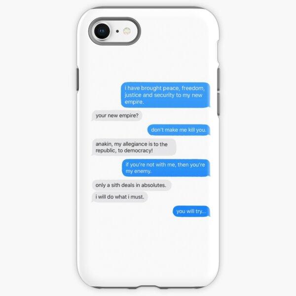 convo on mustafar  iPhone Tough Case