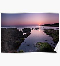 Dawn Reflections - Belfast Lough Poster