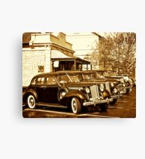 Packards and Casablanca  Canvas Print
