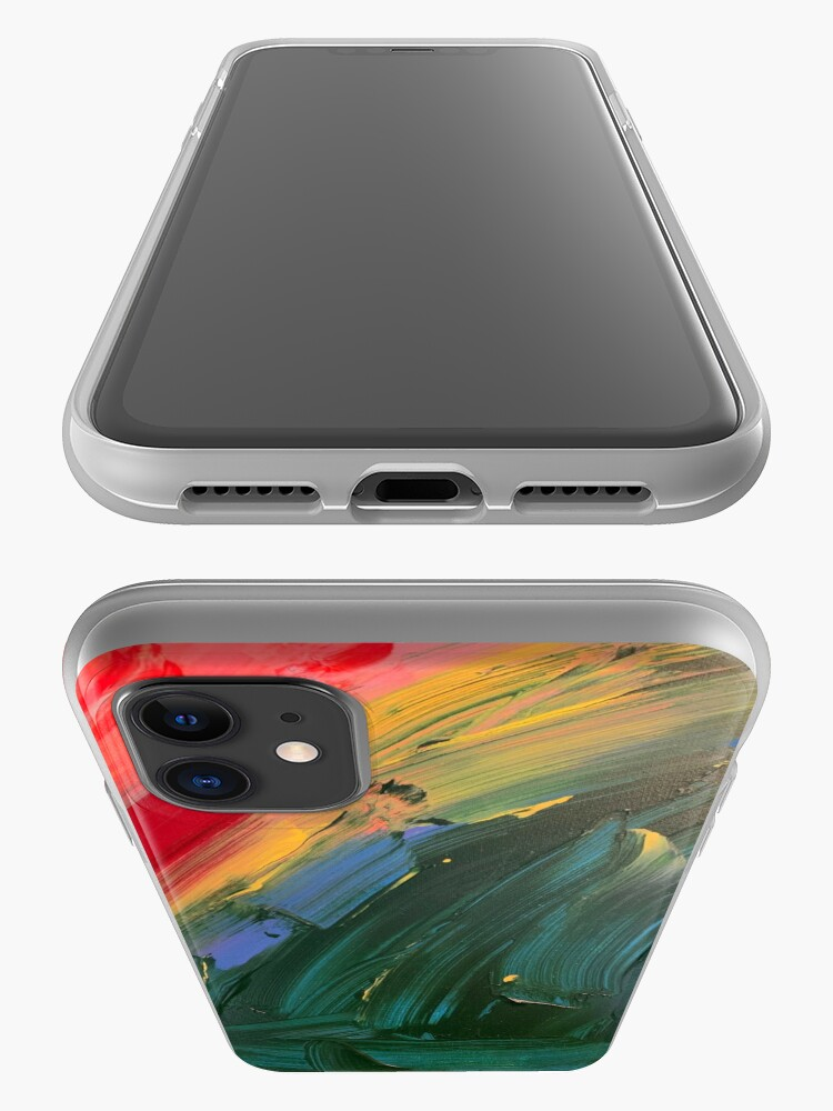 Alternate view of Rainbow junk mail  iPhone Case & Cover