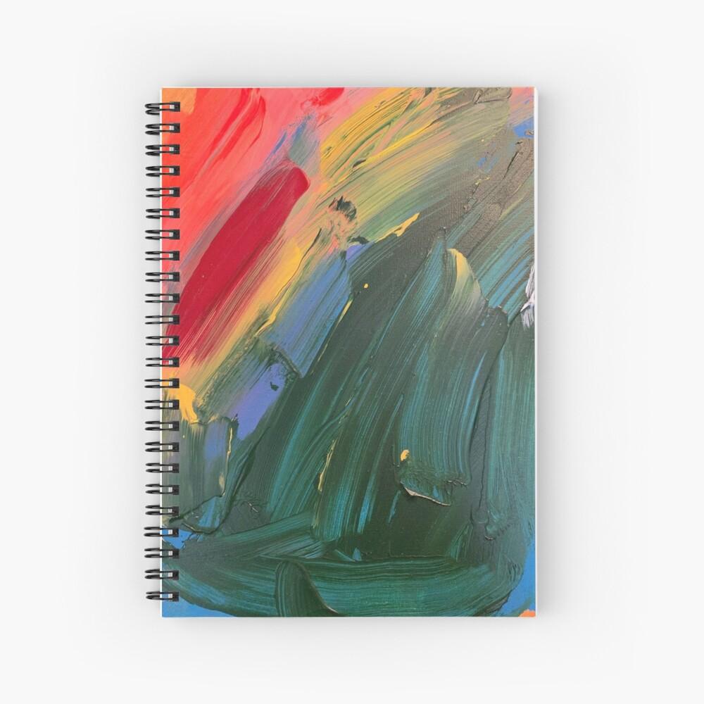 Rainbow junk mail  Spiral Notebook