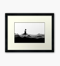 DINO BALLERINA  - Ballerina Dinosaur - Dino collection Framed Art Print