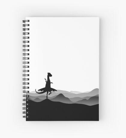 DINO BALLERINA  - Ballerina Dinosaur - Dino collection Spiral Notebook
