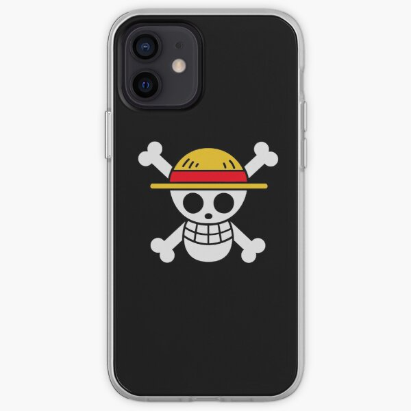 Strawhats Jolly Roger Coque souple iPhone
