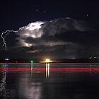 Lightning Show by Michael  Keene