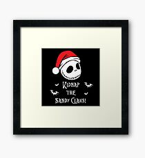 Nightmare Before Christmas - Sandy Claws v2.0 Framed Print