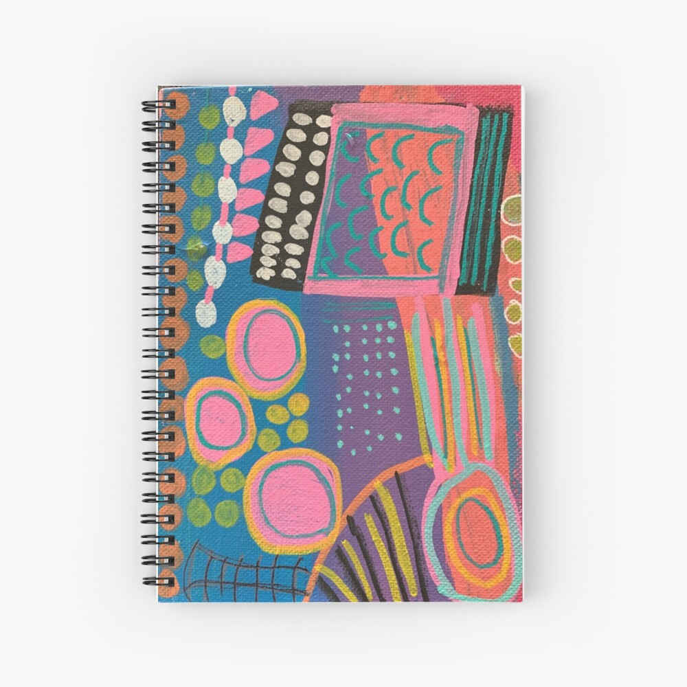 What I Think About After I Say Something  Spiral Notebook
