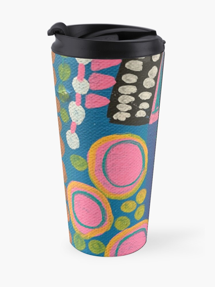 Alternate view of What I Think About After I Say Something  Travel Mug