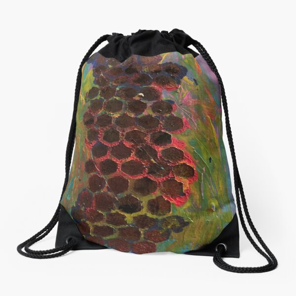 One Step Forward, Two Steps Back Drawstring Bag