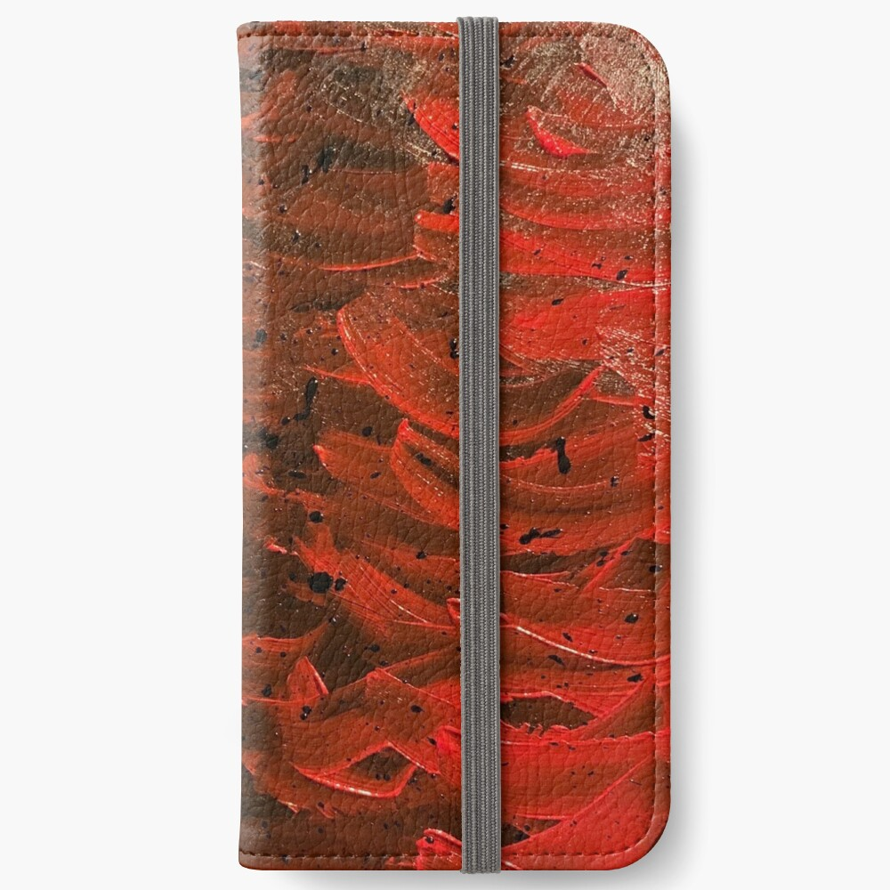 Red Hot Waves iPhone Wallet