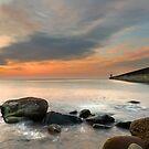 Tynemouth Dawn light - panorama by Michael Ridley