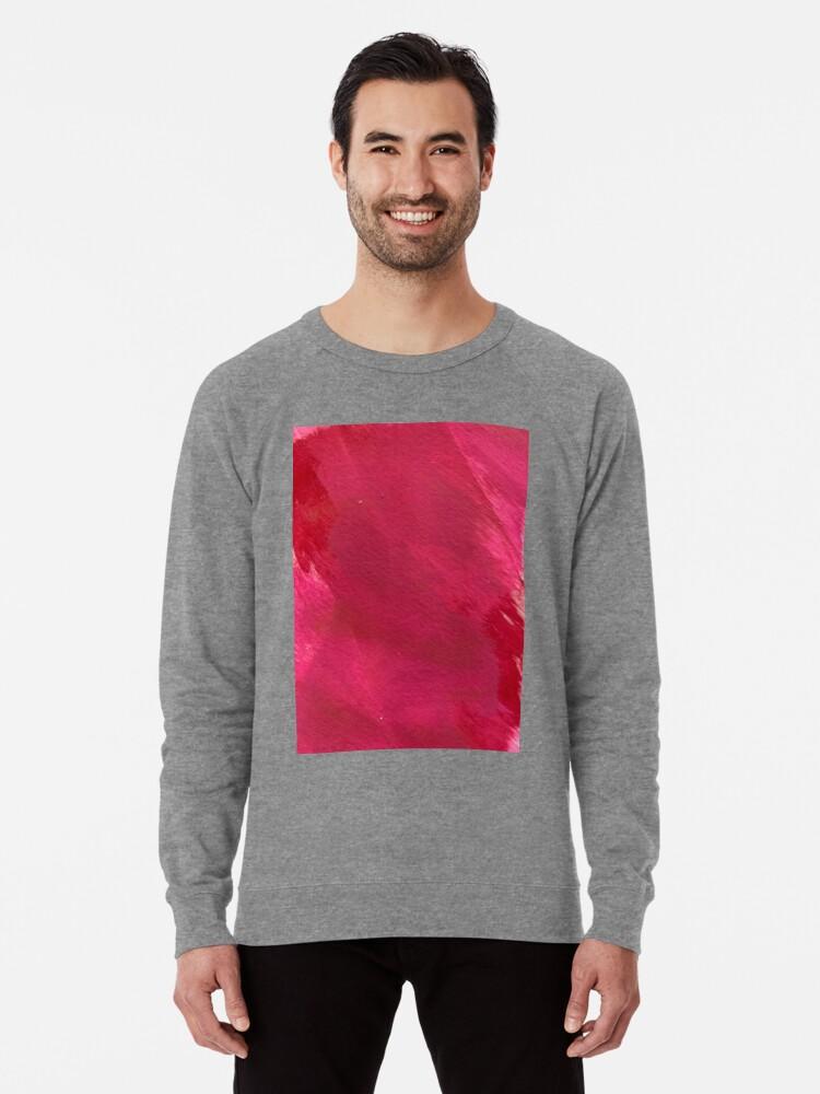 Alternate view of Cotton Candy Clouds of Depression  Lightweight Sweatshirt