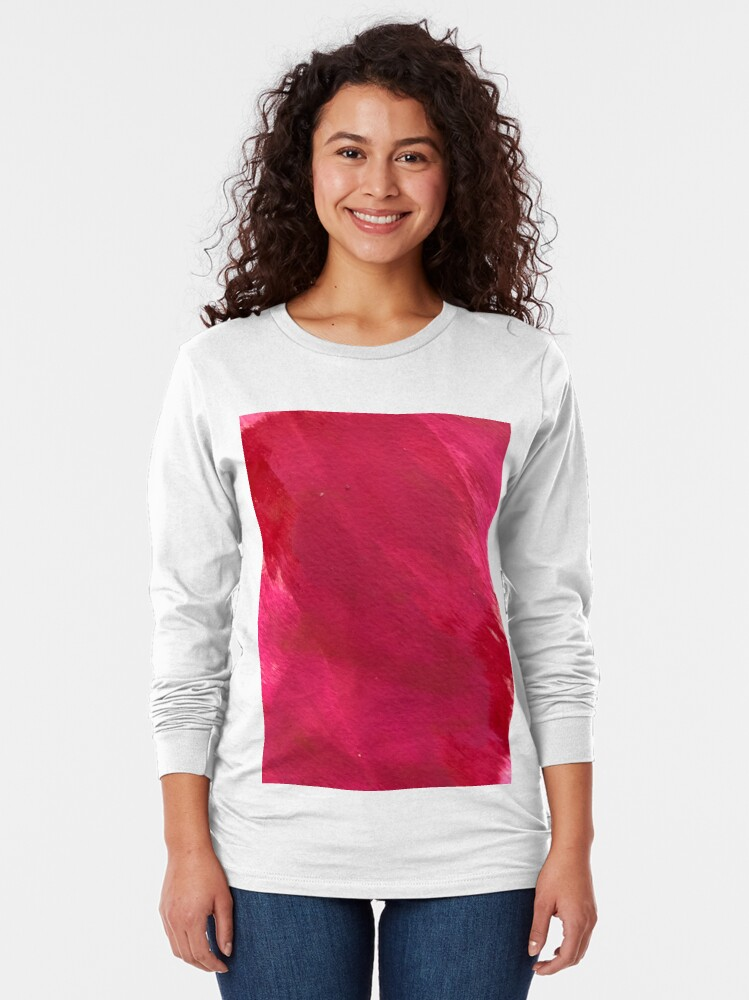 Alternate view of Cotton Candy Clouds of Depression  Long Sleeve T-Shirt