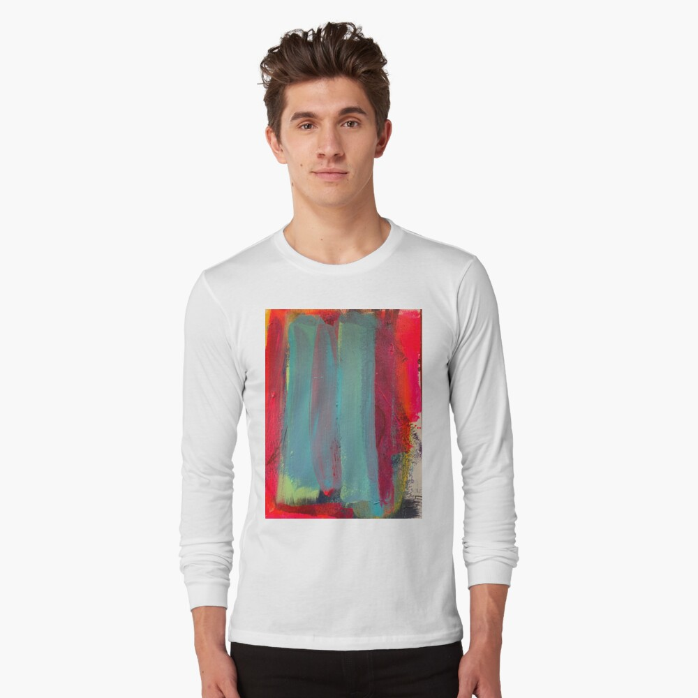 Neon Stripes  Long Sleeve T-Shirt