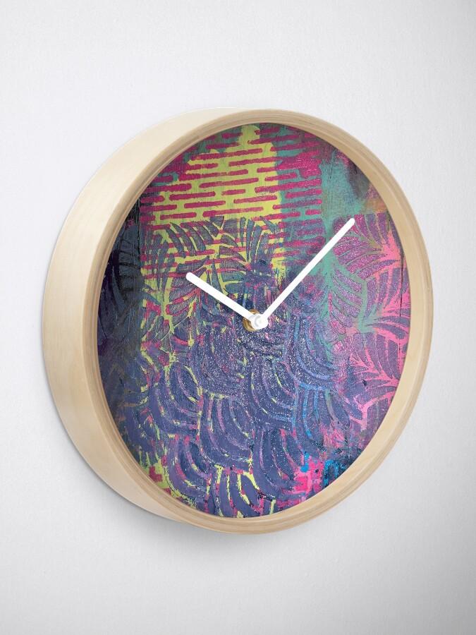 Alternate view of The Purple Palm Tree Clock