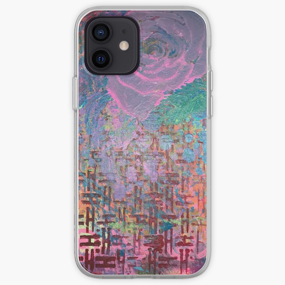 I Bloom in Stormy Weather  iPhone Case & Cover