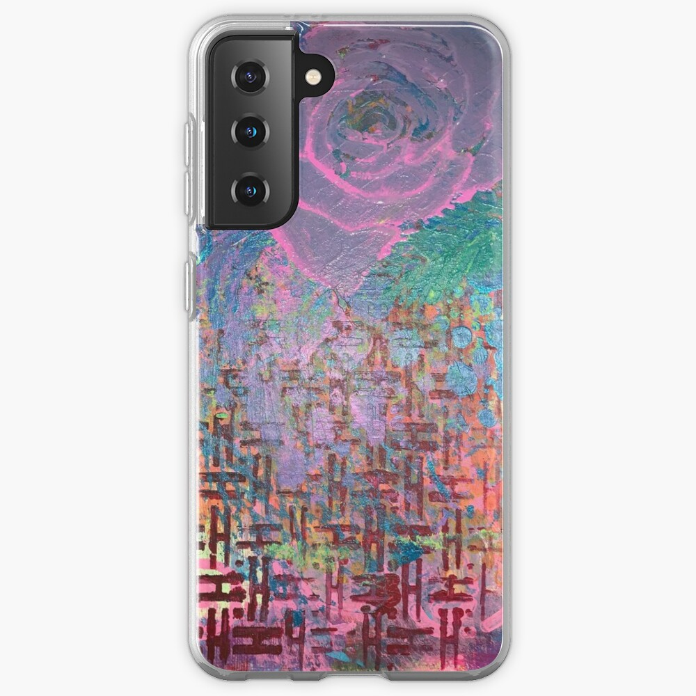 I Bloom in Stormy Weather  Case & Skin for Samsung Galaxy
