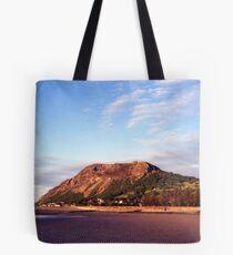 Llanfairfechan Beach Tote Bag