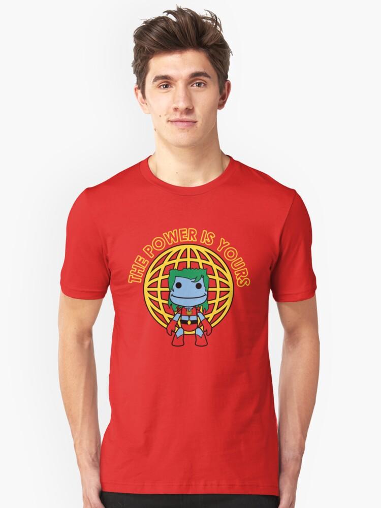 Captain Little Big Planet Unisex T-Shirt Front