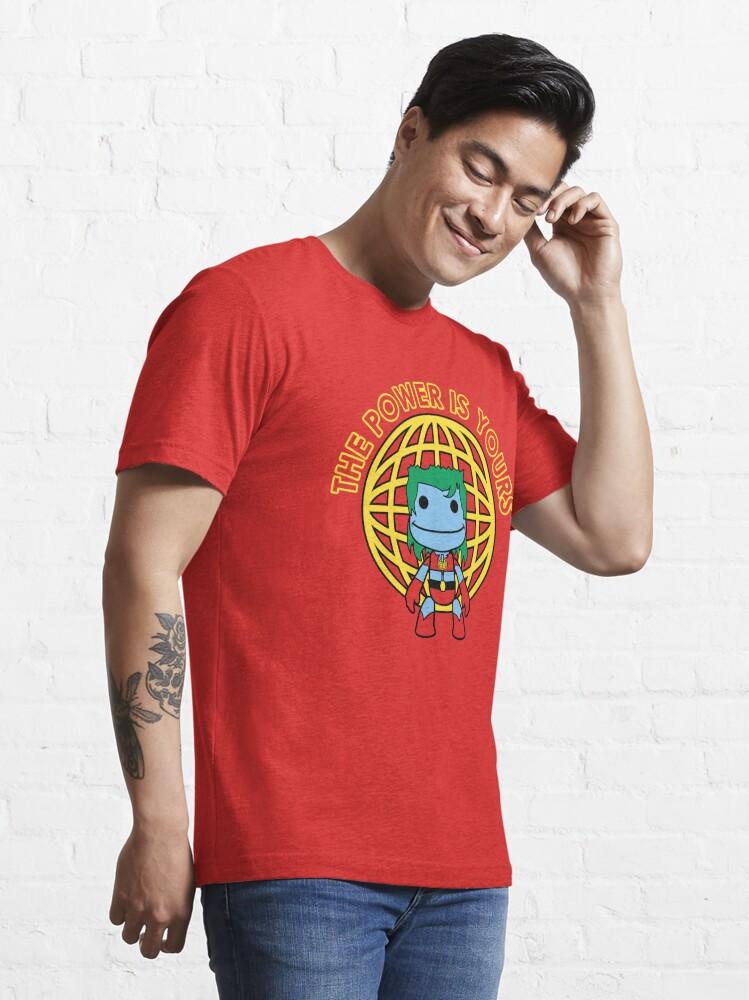 Alternate view of Captain Little Big Planet Essential T-Shirt