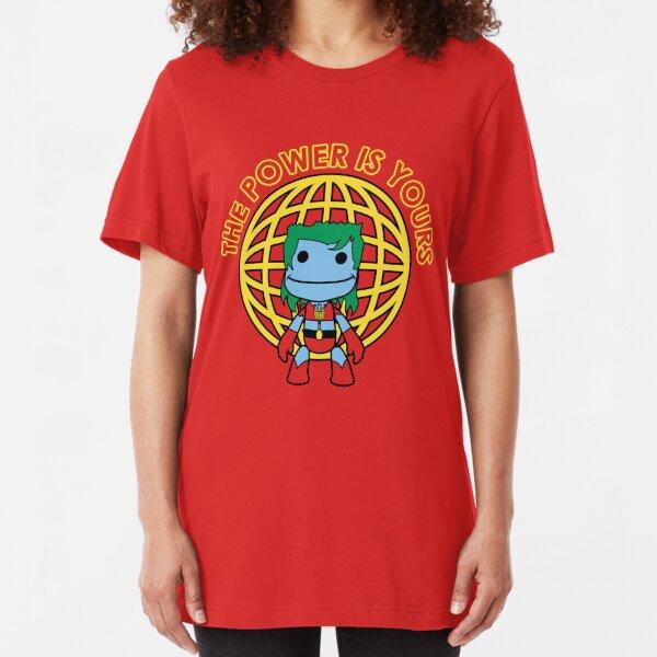Captain Little Big Planet Slim Fit T-Shirt
