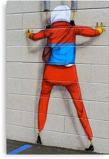 Up Against a Brick Wall by paintingsheep