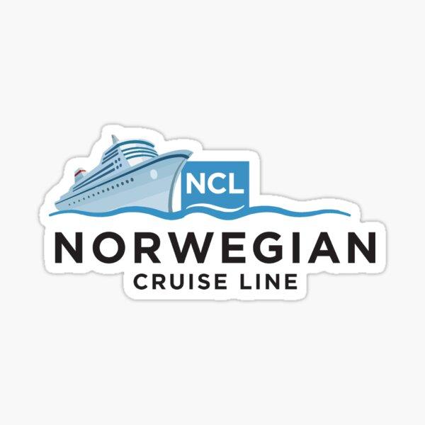 Norwegian Cruise Line Ship Design  Sticker