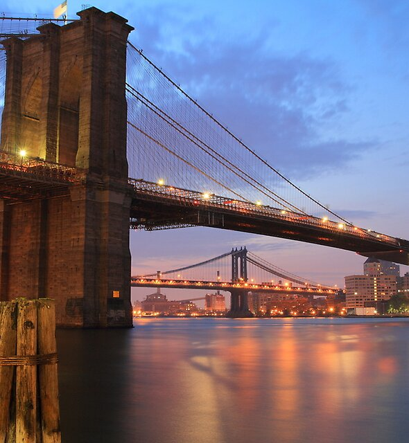 Brooklyn Bridge by pmarella