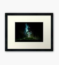 Zelda sword  Framed Print