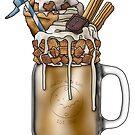 """The Paladin"" Monster Milkshake - Sweet Cinnamon by Kiel Chenier"