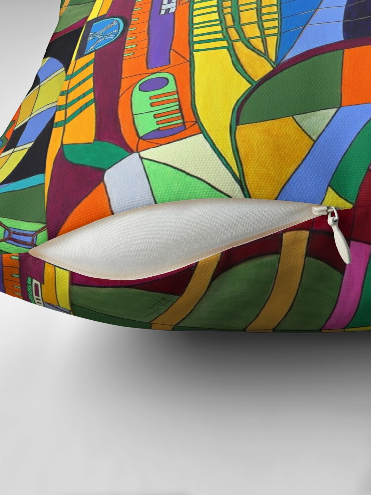 Alternative Ansicht von Caligari I - Fort Lauderdale Bodenkissen