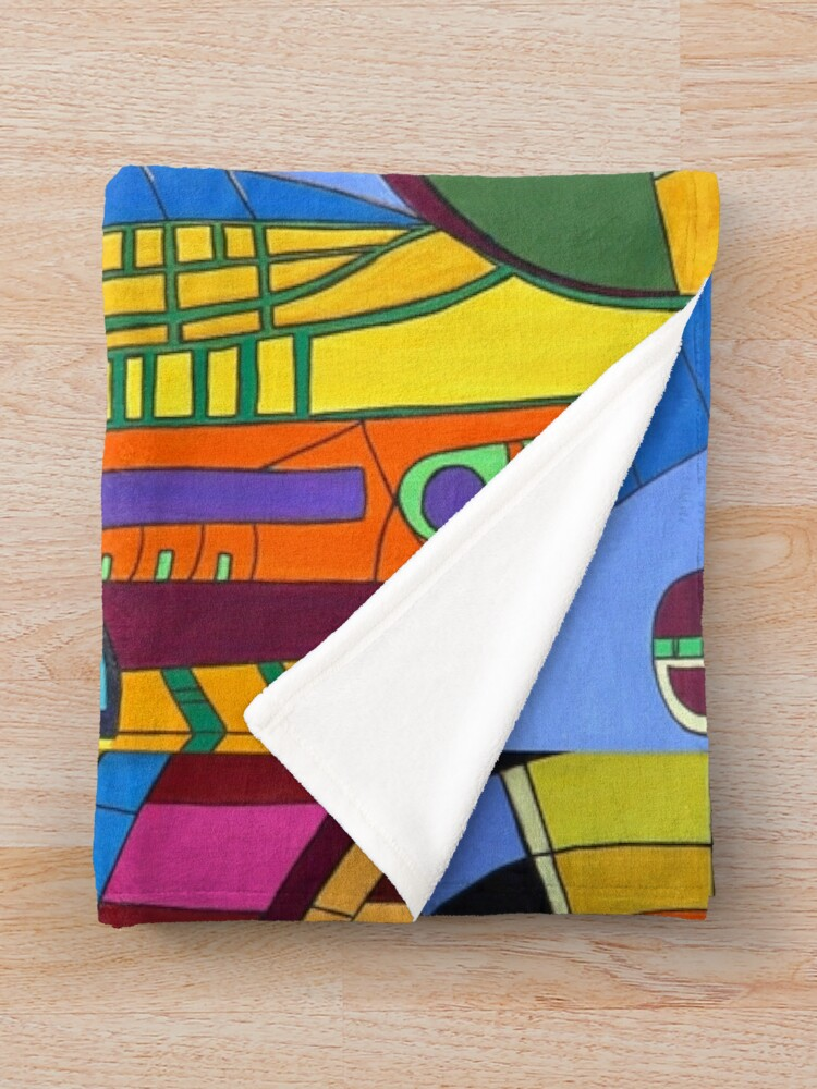 Alternative Ansicht von Caligari I - Fort Lauderdale Fleecedecke