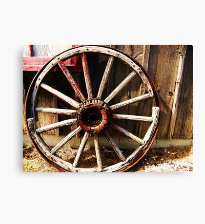 Wagon Wheel (Petrolia Discovery) Canvas Print