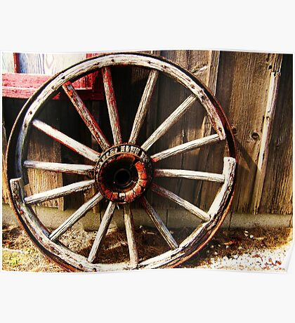 Wagon Wheel (Petrolia Discovery) Poster