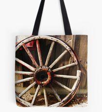 Wagon Wheel (Petrolia Discovery) Tote Bag