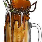 """""""The Ranger"""" Monster Milkshake - Caramel Apple by Kiel Chenier"""