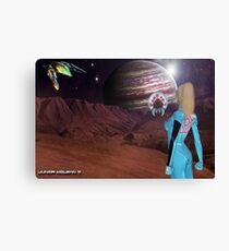 Zero Suit Samus Aran's  Next Destination  Canvas Print