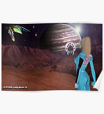 Zero Suit Samus Aran's  Next Destination  Poster
