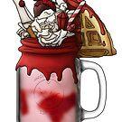 """The Warlock"" Monster Milkshake - Strawberry by Kiel Chenier"