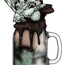 """The Druid"" Monster Milkshake - Dark Chocolate Mint by Kiel Chenier"