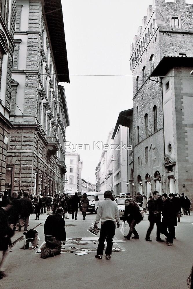 Street Art in Firenze by Ryan Kleczka