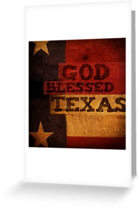 God Blessed Texas by Dallas Drotz