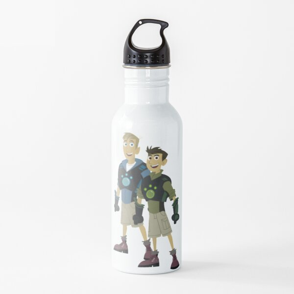 Martin and Chris Kratt - Wild Kratts Water Bottle