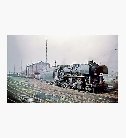 Behind the Iron Curtain: Russian Red Star Train  Photographic Print