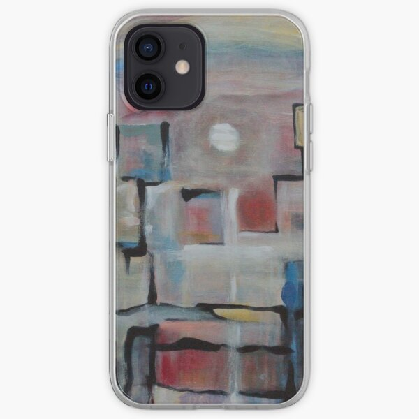 Acrylic Painting on Canvas by Chicago Artist Gary Bradley iPhone Soft Case