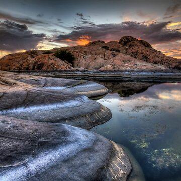1 2 3 Sunset by boblarsonphoto